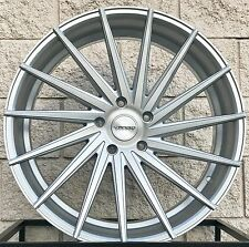 "22"" Porsche Cayenne Varro VD15 Wheels Rims Matte Silver Brush Face VW Touareg Q7"