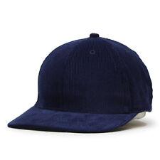 NEW Solid Corduroy Low Profile Adjustalble Baseball Cap