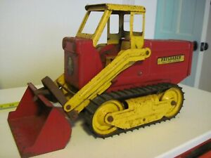 Nylint #3100 Payloader Red/Yellow 1959 HOUGH PAYLOADER TRACTOR SHOVEL GOOD COND.