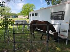 1 or 2 Horse Portable Horse Corral Panels Pen Usa Made! Free Shipping! box set
