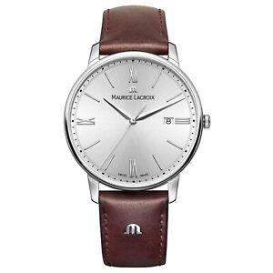 Maurice Lacroix EL1118-SS001-110 Men's Eliros Silver Quartz Watch