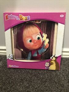 Masha And The Bear Wooden Puzzle New