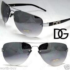 New DG Eyewear Mens Womens Rimless Sunglasses Shades Fashion Designer Pilot 37