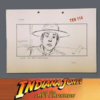 INDIANA JONES & THE LAST CRUSADE, Production Used Storyboard, Young Indy Reacts
