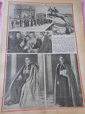 Les Fratelloni pénitents romains Saut et plongeon course chevaux Print 1935