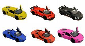 1 X DIECAST LAMBORGHINI racing car gift model replica collectible christmas