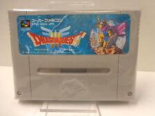 SNES Spiel - Dragon Quest III (3) (JAP Import) (Modul)