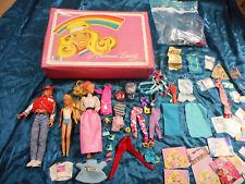 Lot of Original Vintage Barbie 1966 1990 bigstep man by Hasbro 1967 Mattel girl
