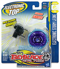 BEYBLADE METAL FUSION ELECTRONIC Toupie STORM LEONE