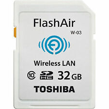 US Seller Secure Digital Toshiba Memory 32GB  32 G GB SD SDHC FlashAir Class 10