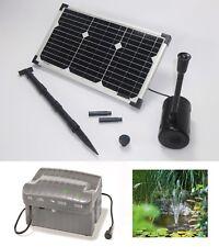 20 WATT W Pompe solaire de jardin bassin Batterie étang D'immersion
