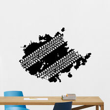 Tire Tracks Wall Decal Way Road Garage Vinyl Sticker Car Nursery Mural 194crt