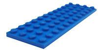 Lego 2 Stück Platte 4x12 in blau 3029 Neu blaue Platten Basics Bauplatten City