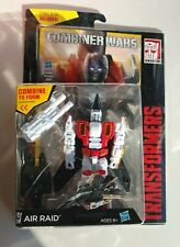 Transformers Generations Combiner Wars Deluxe AIR RAID w COMIC BOOK Superion