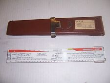 WWII USAAF B-24 & PB4Y Aircraft Load Adjuster in Original Case mint condition