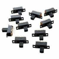 SODIAL(R) 10 Pcs 6 Broches 2 Positions DPDT On/On Mini Interrupteur a glissier