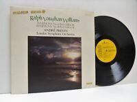 ANDRE PREVIN vaughan williams symphonies no 6 and 8 LP EX+/EX, GL 89694, vinyl,