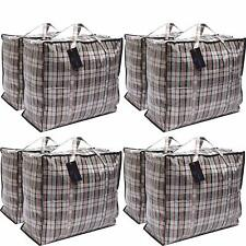 Deco Express Extra Large Strong Storage Laundry Shopping Bags, Pack of 8, XXL