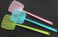 3 Tapette à Mouches Moustiques Plastique Toile d'Araignée 43cm attrape-mouche