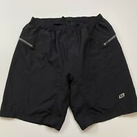 Bellwether Men's Black Padded Cycling Shorts Size 2XL