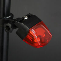 Induction Magnetic Power Generate TailLight Bike Bicycle Warning Waterproof Lamp