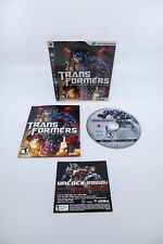 Transformers Revenge of the Fallen (PlayStation 3, PS3 2009)- TESTED, COMPLETE