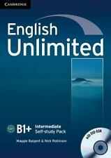 English Unlimited Intermediate Self-Study Pack (workbook With Dvd-Rom): By Ma...