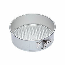 "Master Class Kitchen Craft SILVER ANODISED H/Duty PRO Springform CAKE TIN 9"""