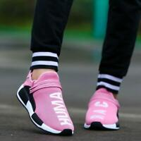 Women's Trainers Casual Sport Running Sneakers Tennis Shoes Breathable Pink