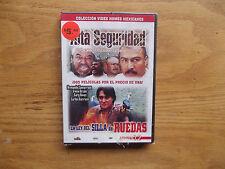 Alta Seguridad - La Ley Del Silla De Ruedas (DVD) Rare Spanish Double Feature