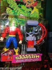 DOC SAMSON INCREDIBLE HULK SMASH N CRASH SERIES MOC  FREE U.S. SHIPPING