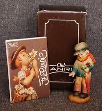 """Anri Ferrandiz Hand Carved Club Piece #2 """"My Friend"""" Figurine With Box"""