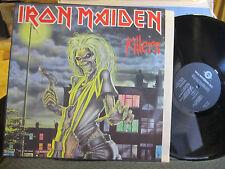 IRON MAIDEN KILLERS '81 LP rare heavy metal gala RU FAME fa4131221 NM vinyl !!