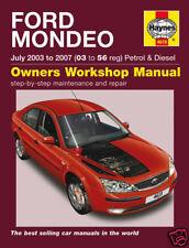 Haynes Ford Mondeo 03-07 Benzina Diesel Manuale NUOVO 4619
