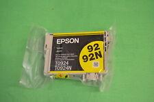EPSON Stylus Yellow Ink T0924 T0924N 92 92N  Vacuum Packed - No Box