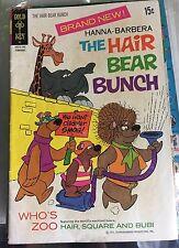 Rare! Hanna-Barbera The Hair Bear Bunch #1 (Feb 1972, Western Publishing)