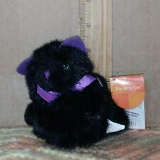 RUSS Itty Bitty cat plush toy (black)