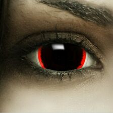 "Mini Sclera Lenses ""Exorcism"" rote Kontaktlinsen Crazy Farbige Halloween Linsen"