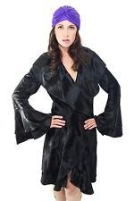Dennis Basso Vintage Black Russian Broadtail Fur Coat - M/L - Ret. $22k