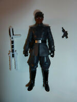 """Finn First Order Disguise Star Wars Force TLJ action figure toy 3.75"""" Hasbro!"""
