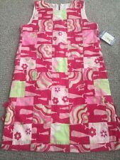 New Whales Girls Jumper Dress Quilted Pink Like Green Size 8