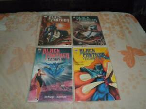 Lot of 4 Marvel Comics Black Panthers Panthers Prey Soft Cover Graphic Novels