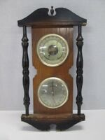 Vintage MADE IN JAPAN Barometer Weather Humidity Temperature