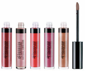 Gloss naturel certifié BDIH, disponible en 5 couleurs