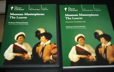 Great Courses Museum Masterpieces The Louvre 2 Discs & Book Education   -PPX