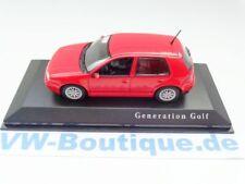 + VW Golf 4 von Minichamps in 1:43  * rot *  NEU