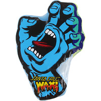 Santa Cruz Screaming Hand Skateboard Curb Creme