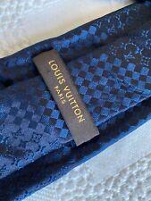 Mens Louis Vuitton All Silk Tie