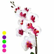 "17"" Artificial Silk Butterfly Phalaenopsis Orchid Flower Spray - Home/Wedding"