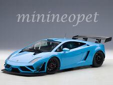 AUTOart 81359 LAMBORGHINI GALLARDO GT3 FL2 2013 1/18 DIECAST CAR BLUE